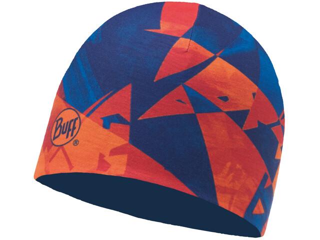 Buff Microfiber Bonnet réversible, rush multi-blue skydiver